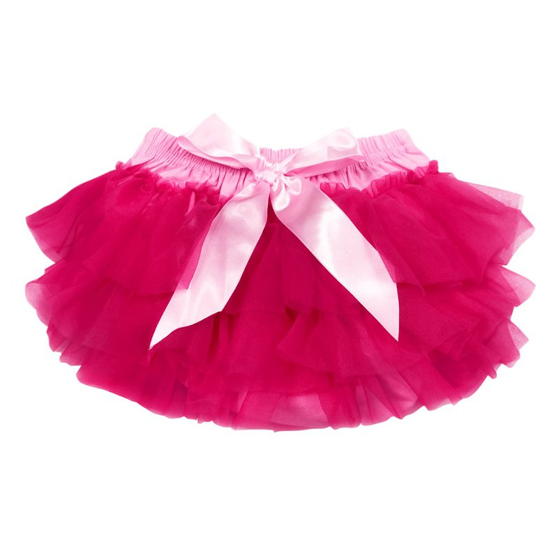 Cutie Bella 雪紡蝴蝶結蓬蓬褲裙 澎澎裙屁屁褲 Pink Bubblegum