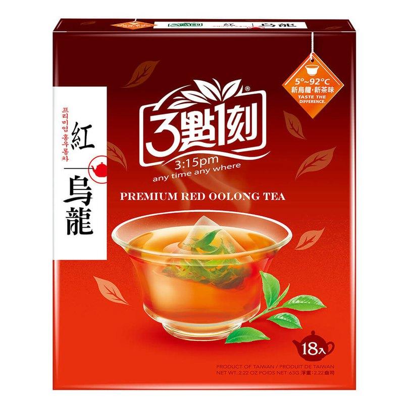 【3點1刻】紅烏龍茶 18入/盒