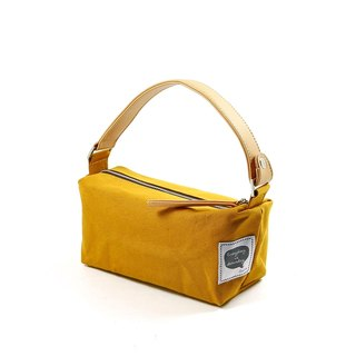 Mini Lunch Bag || Mustard Yellow