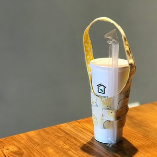 Hand Cup Cup Meng Mo Bear Cub Cup Beverage Cup Set Hot and Cold Cup Cup Eco Bag Drawstring Can be Picked Palm Heart Yi