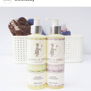 British gentleman Xiaoheng top organic baby shampoo bath two in one cleansing dew + bubble dew