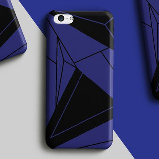 Blue architect phone case