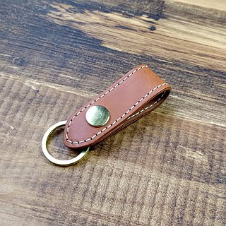 [DOZI leather hand made] men's leather hanging waist key ring can be freely selected