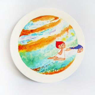 Jupiter | Jupiter lucky you | ceramic absorbent coaster coaster