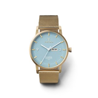 TRIWA ARCTIC KLINGA Gold Mesh Strap Watch Online Exclusive