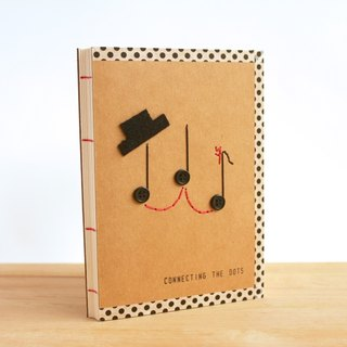 Handmade A6 Notebook - Mr & Ms Note (手工缝制小本子)