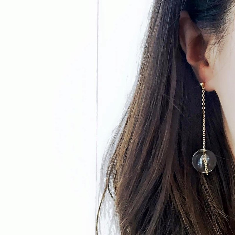 PUNTINI CLEAN - Glass Bubble Earrings