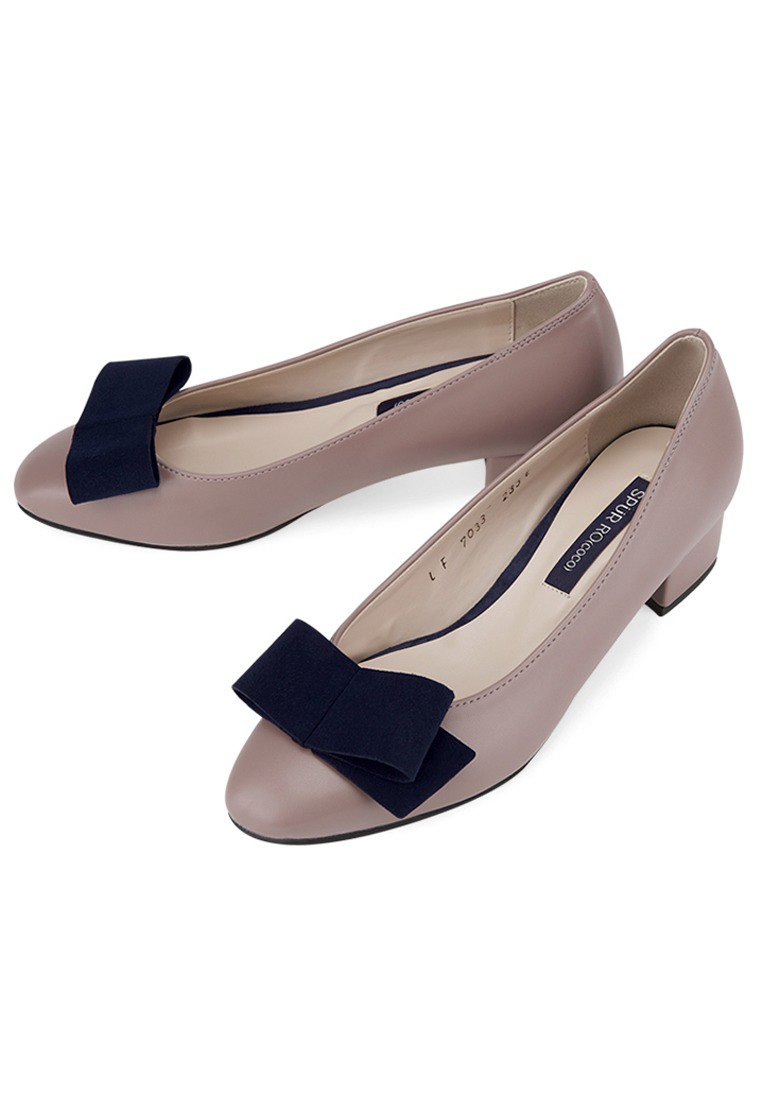 SPUR Retro flat bow heels LF7033  MP