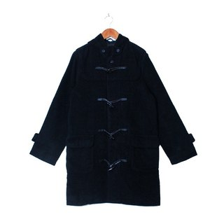 {::: Giraffe giraffe people :::} _ angora few basic iron gray high texture vintage horn button coat