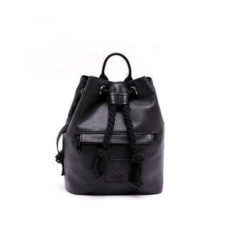 [RITE] Le Tour Series - Dual-use Boxing Small Backpack - Leather Black