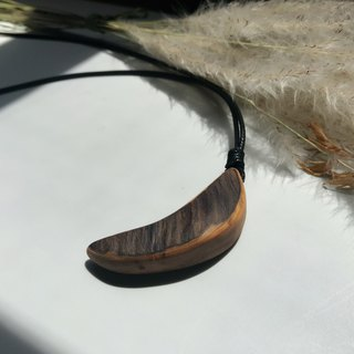 Moonlight Beauty Lemon Elm Necklace