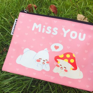 SNUPPED-Miss You-Zipper Bag
