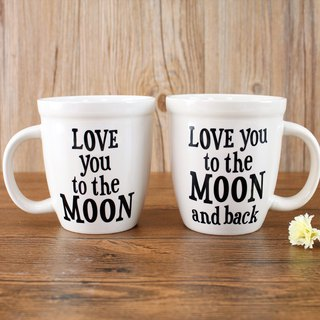 馬克杯套組15oz-Moon and Back∣MUGS054