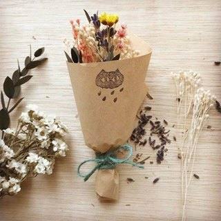 Puputraga Long time no see dry bouquet Christmas gift wedding small things birthday blessing