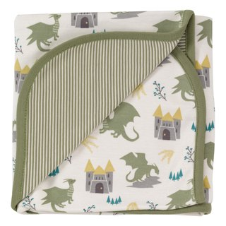 100% organic cotton dragon pattern baby towel