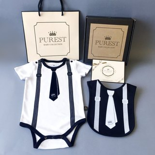 PUREST 漾 漾 pocket is very handsome / small gentleman / tie gift box group / baby Mi Yue / birthday / gift preferred