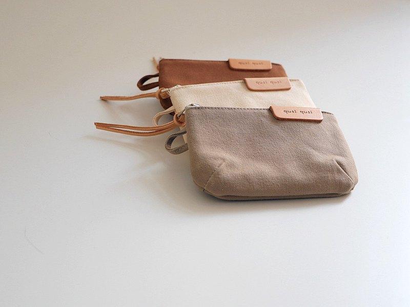 來一杯零錢包 - 日本帆布 / 悠遊卡 / 萬用包
