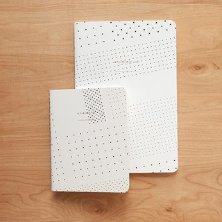 Notebook set : Dot Dot Dot (set of 2)