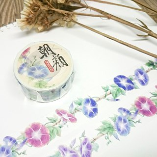 [Summer Flower Festival] Asahi (Pure Morning Glory) Paper Tape