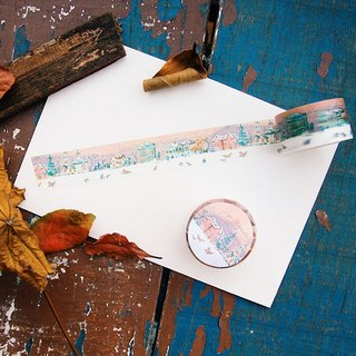 Joji watercolor hand-painted paper tape - seals carnival