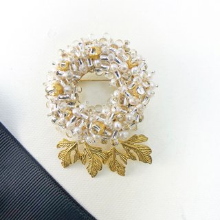 Exquisite - Japanese Style Pearl Brooch【Harvest Grapes】 【wedding 】