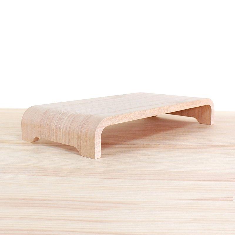 WOOLI 經典款螢幕架 - 白橡木 客製化