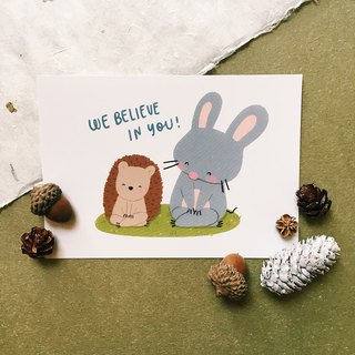 We Believe In You - Squeaky 明信片