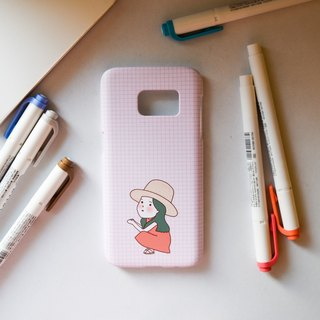 Fengji girl / matte hard phone shell / for iPhone Samsung HTC SONY OPPO millet infocus ASUS LG