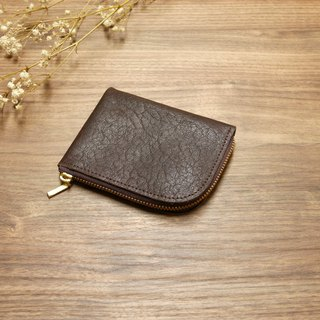 L-type wallet - coffee