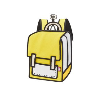 Junior Minion Yellow Spaceman Backpack