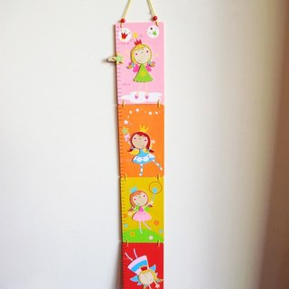 Wooden fairy growth chart