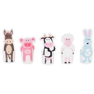 [pukaca hand-made educational toys] finger doll series - farm animals