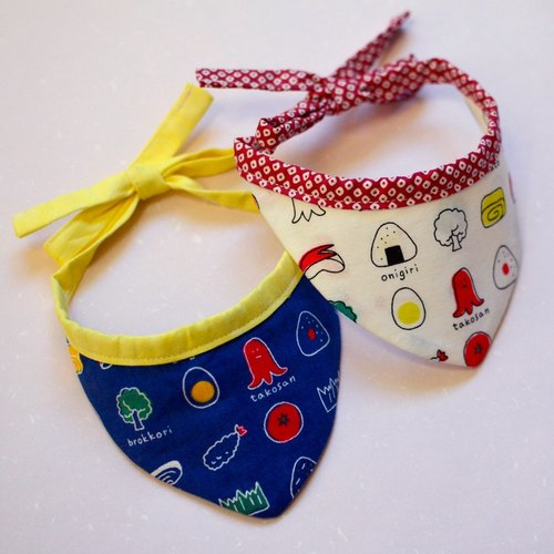 """Dog and dog first round production"" and cloth cat scarf dog scarf (strap type) - and food _S number"
