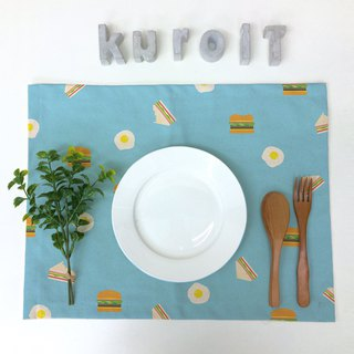 Take a bite of breakfast │ Make up your table canvas placemat