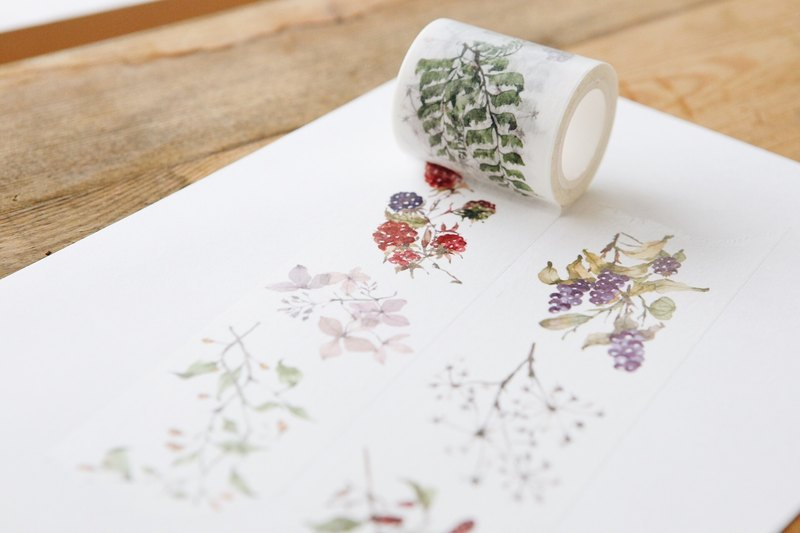Wild Wreath - OURS Original Washi Masking Tape
