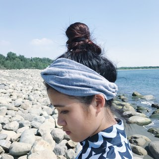 Wavelet towel cap type elastic wide / manual hair band