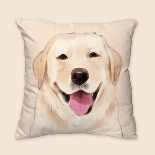 [I will love you forever] Classic Labrador Pillow Animal Pillow / Pillow / Cushion