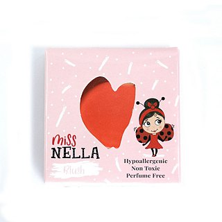 British [Miss Nella] children's water-based blush - pomegranate fruit red