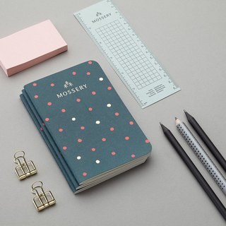 Teal Dots Pocket Notebook