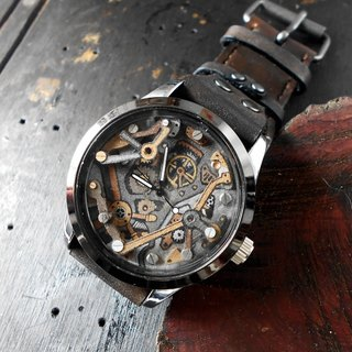United Black Machine 2 Handmade watch Handmade handmade bracelet with only one
