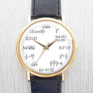 Mathematical Formula - Women's Watch / Men's Watch / Neutral Table / Accessories [Special U Design]