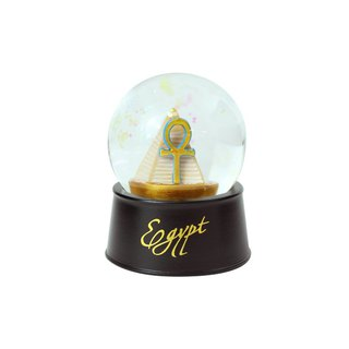 Egyptian Crystal Ball Magnet Pyramid