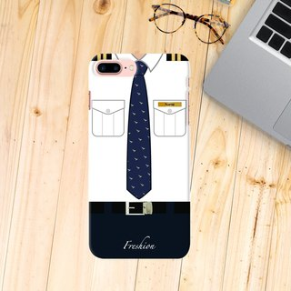 Custom Cathay Pacific Airlines Air Steward Captain Crew iPhone Samsung Case