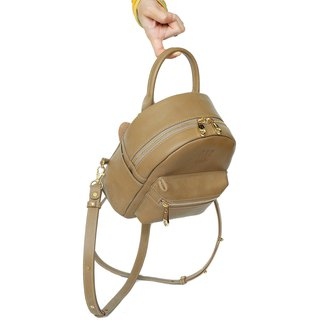 Caramel Angel Mini BackPack Genuine Leather