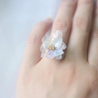 One Refinement F.MISS Hosiery Japan - Eternal Flower \ Dried Flower Zijian Flower / Hydrangea Dijiao Hand Ring / Accessories