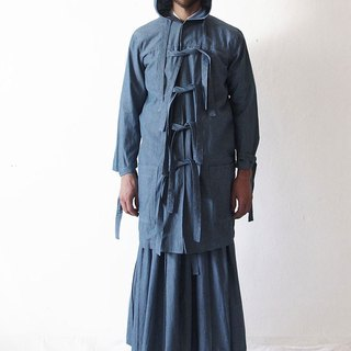 Multi-Designed Denim Coat