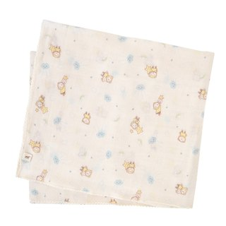 【SISSO organic cotton】 fly clouds flying gauze universal towel + multi-purpose folder