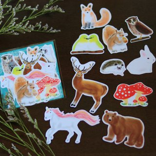 Forest Illustration / Sticker Pack