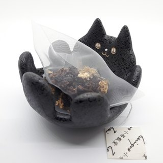 [Want afternoon tea accompanied by cats] Blake Meow tea plate dish