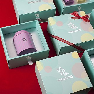 Cai Ying flower language gift box - tea bag single pot into | three flavors [HERDOR tea gift box]